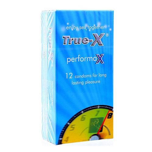 Bao cao su true-x performax 12 cái