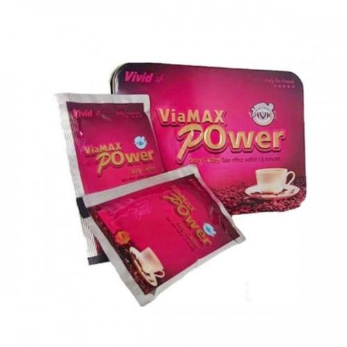 Cà phê ViaMax Power kích thích ham muốn cho nữ giới