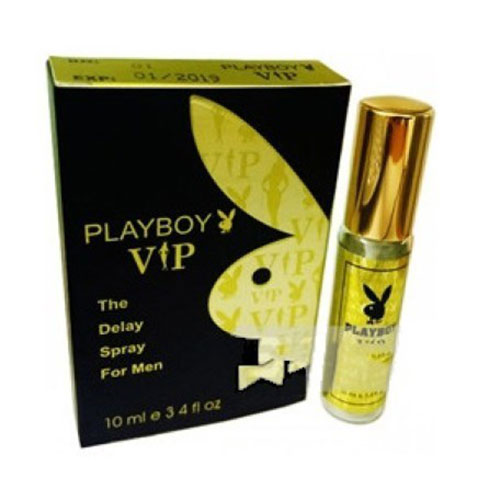 Chai xịt Playboy Vip vàng 10 ml chống xuất tinh sớm