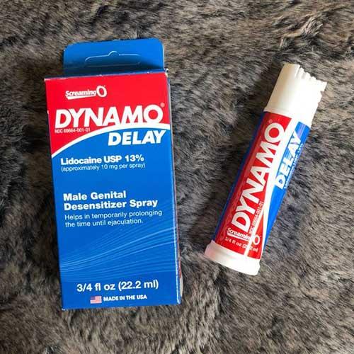 Chai xịt chống xuất tinh sớm Dynamo Delay USA Spray