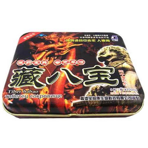 Thuốc Tibet Babao - Rồng Nâu 8 Viên