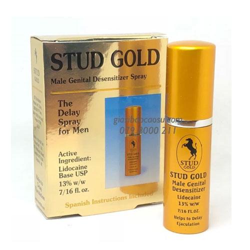 Thuốc xịt Stud Gold chống xuất tinh sớm
