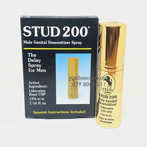 Thuốc xịt stud 200 spray kéo dài thời gian yêu
