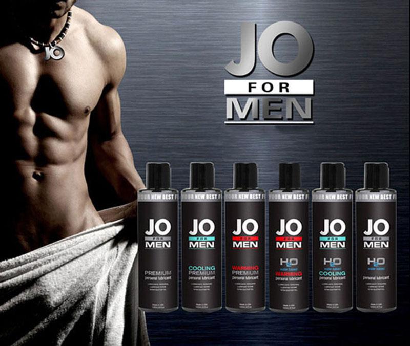 Gel bôi trơn cao cấp JO for Men H2O cho nam - Jo system