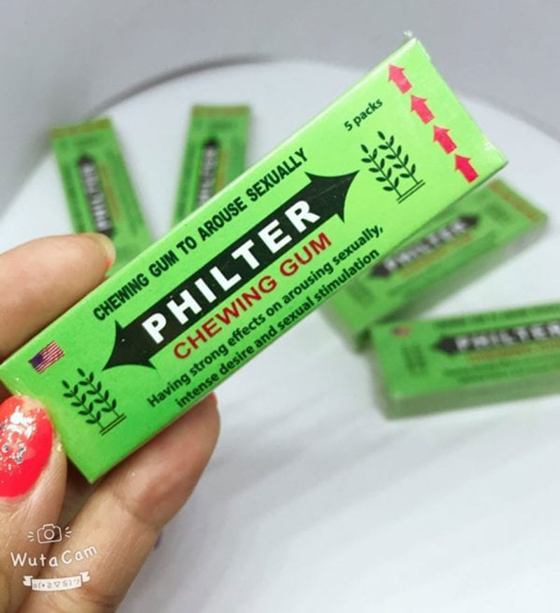 Kẹo cao su singum kích dục nữ philter