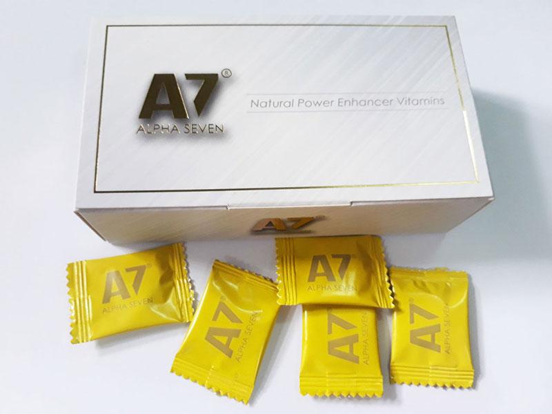 Kẹo ngậm A7 tăng cường sinh lý nam giới xách tay từ Mỹ