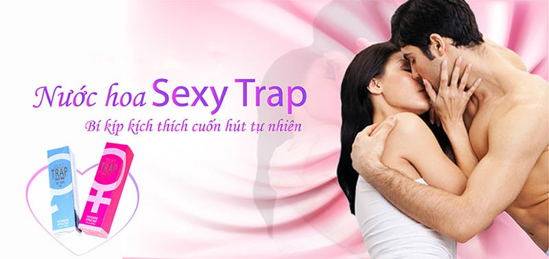 Nước hoa kích thích nữ cực mạnh Sexy Trap - 29.5ml
