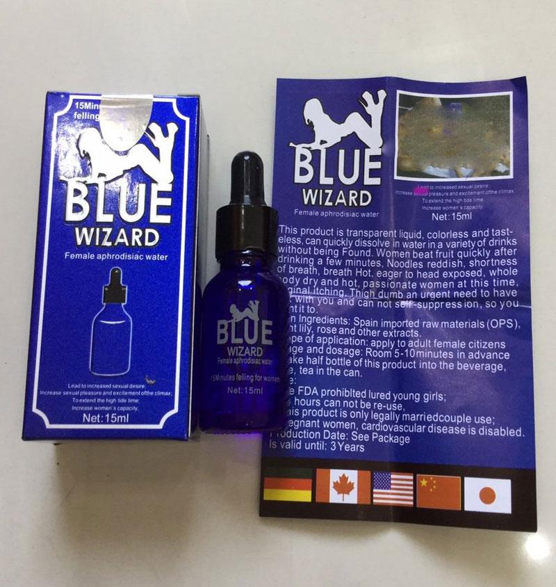 Thuốc kích dục nữ loại mạnh Blue Wizard