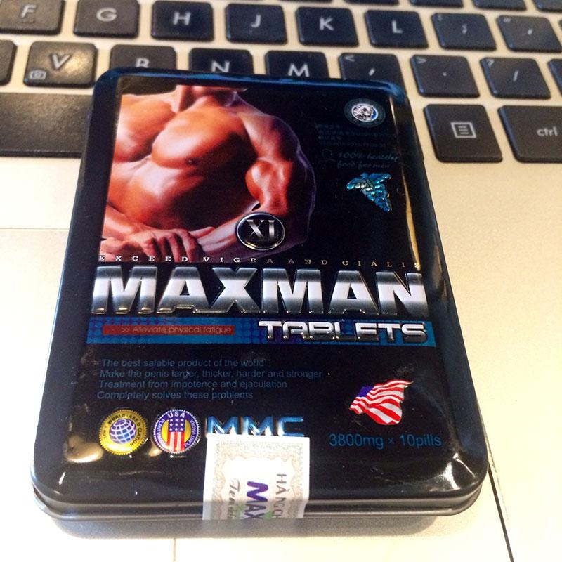 Maxman 10 viên xanh 3800mg