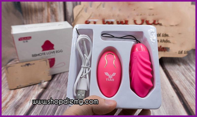 Trứng rung tình yêu không dây mini Yeain Sakura 3
